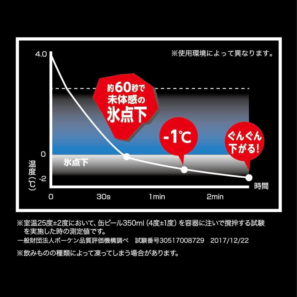 ON℃ZONE(オンドゾーン) フリージングタンブラー ジョッキ 420ml OZFJ-420GDの商品画像7