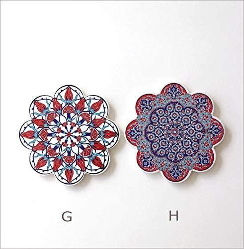 ギギliving 鍋敷き トルコの陶器プレート [ras4867]の商品画像7