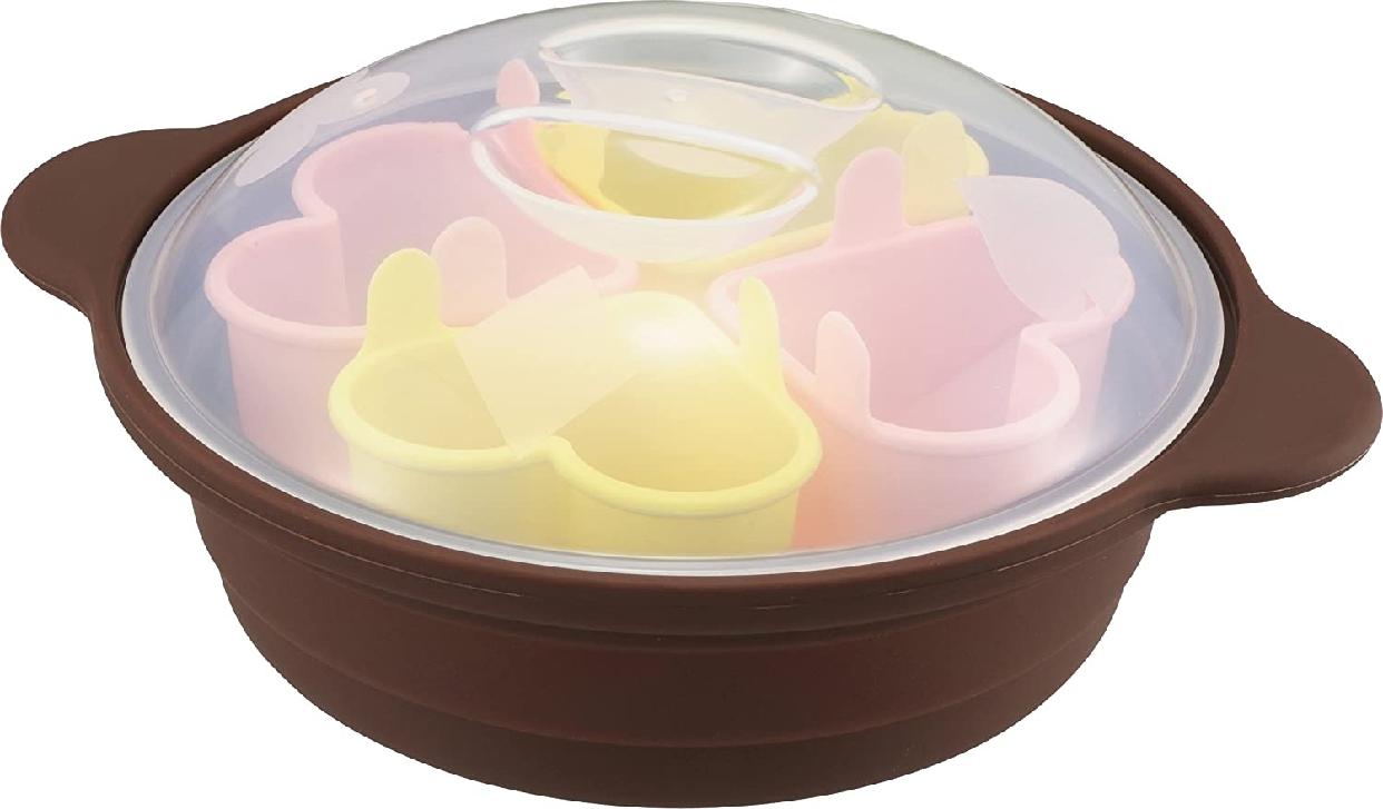 川﨑合成樹脂(KAWASAKI PLASTICS) シリコーン ハートスチームパンの商品画像