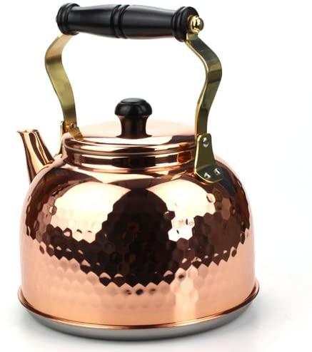 新光金属 銅槌目入 電磁 ケットル 2.3L IH-3517の商品画像3