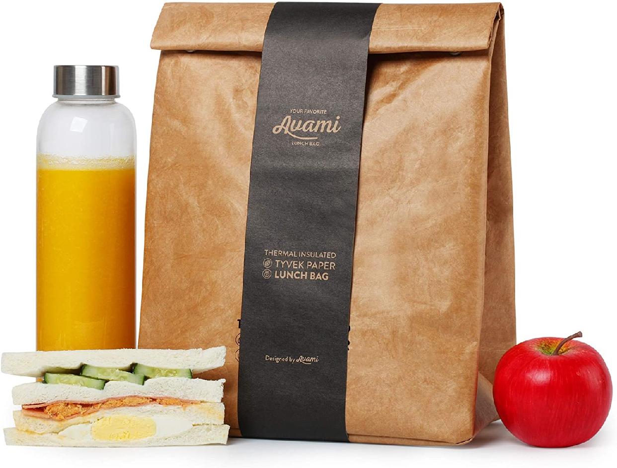 AVAMI(アヴァミ)ブラウンペーパーランチバッグの商品画像2