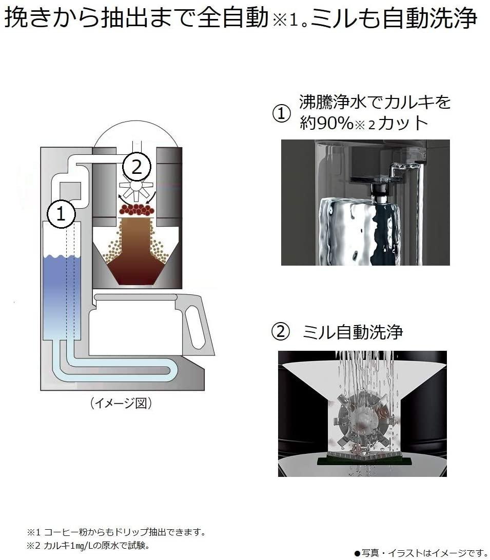 Panasonic(パナソニック) 沸騰浄水コーヒーメーカー NC-A56-Kの商品画像5