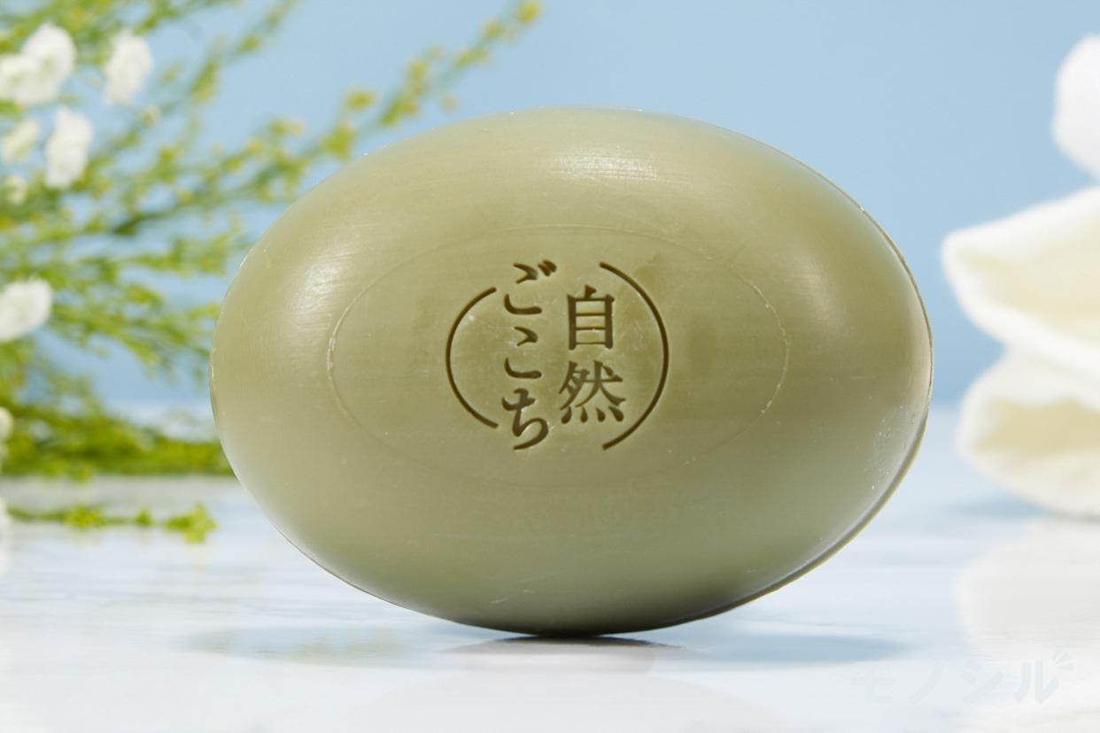 自然ごこち(シゼンゴコチ) 茶 洗顔石けんの商品画像