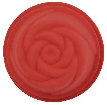 Kai House SELECT(カイハウスセレクト)生地がくっつきにくいシリコーン製のお菓子型(ローズ)レッド DL6242の商品画像2