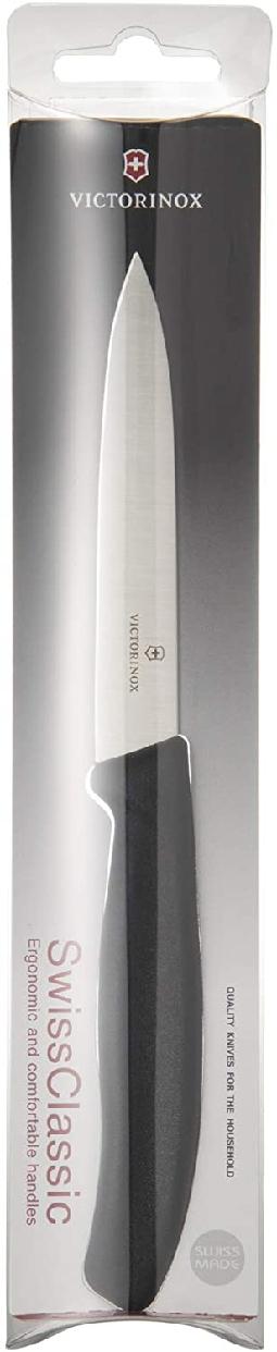 VICTORINOX(ビクトリノックス) スイスクラシック パーリングナイフ10cm 6.7703E BLACKの商品画像6