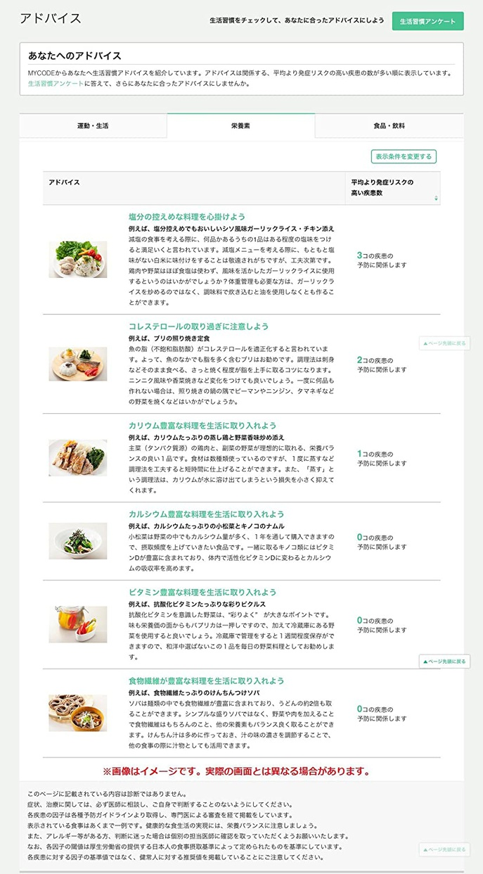 MYCODE(マイコード) マイコード ヘルスケアの商品画像6