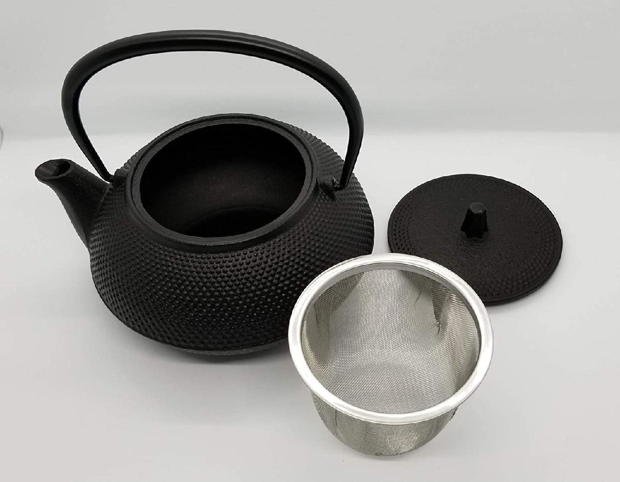 岩鋳(Iwachu) 鉄瓶兼用急須 5型新アラレ ブラックの商品画像7