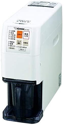 象印(ゾウジルシ)家庭用無洗米精米機 BT-AG05-WA ホワイトの商品画像