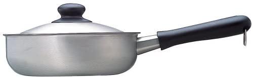柳宗理(やなぎそうり)ステンレス片手鍋 22cm ふた付き つや消しの商品画像