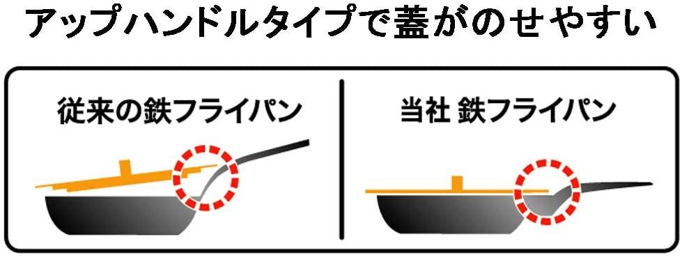 こだわり職人 鉄 中華鍋 片手 30cm 040097の商品画像3