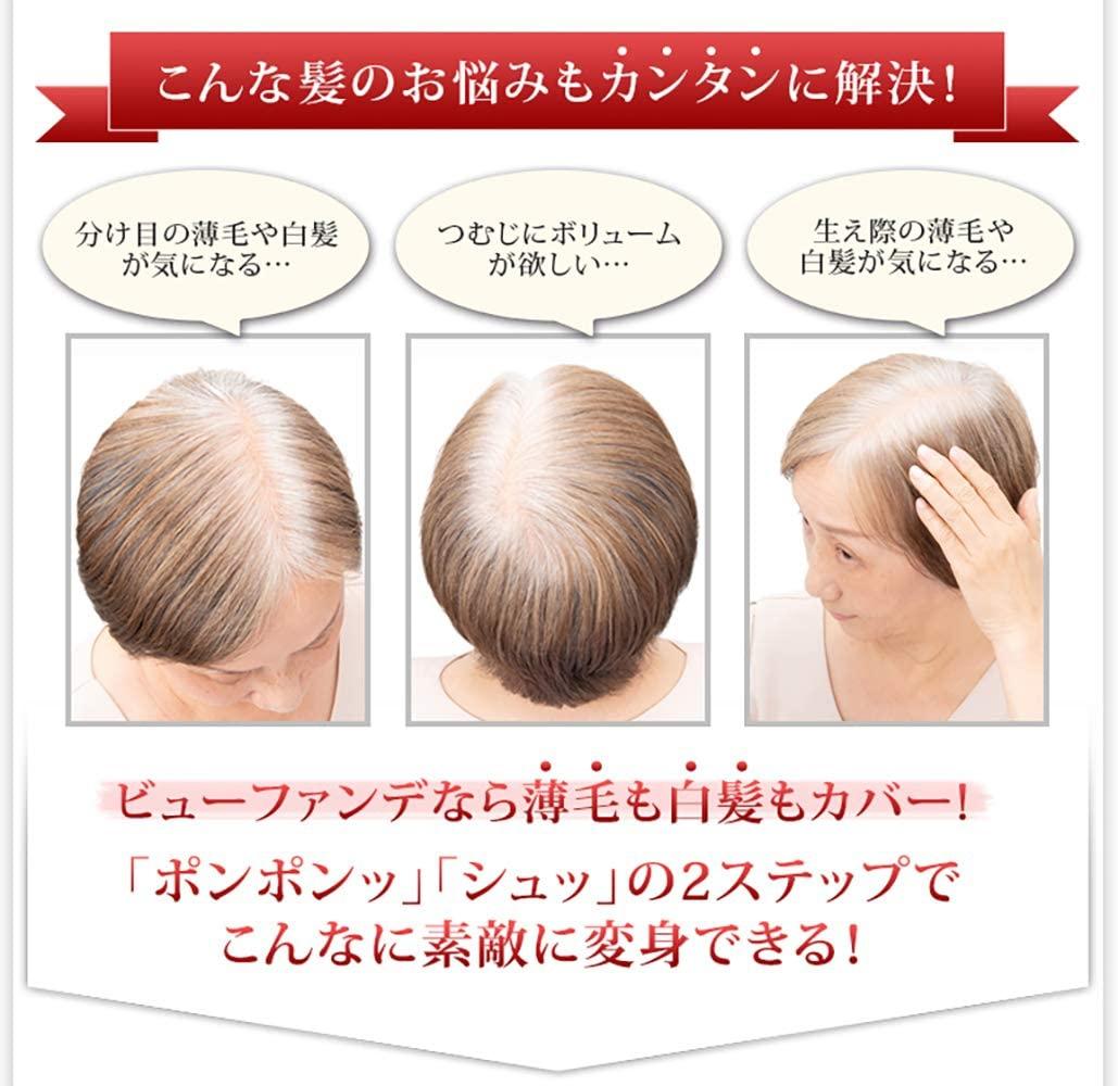 HairPlus(ヘアプラス) ヘアプラス ビューファンデ パウダーの商品画像6