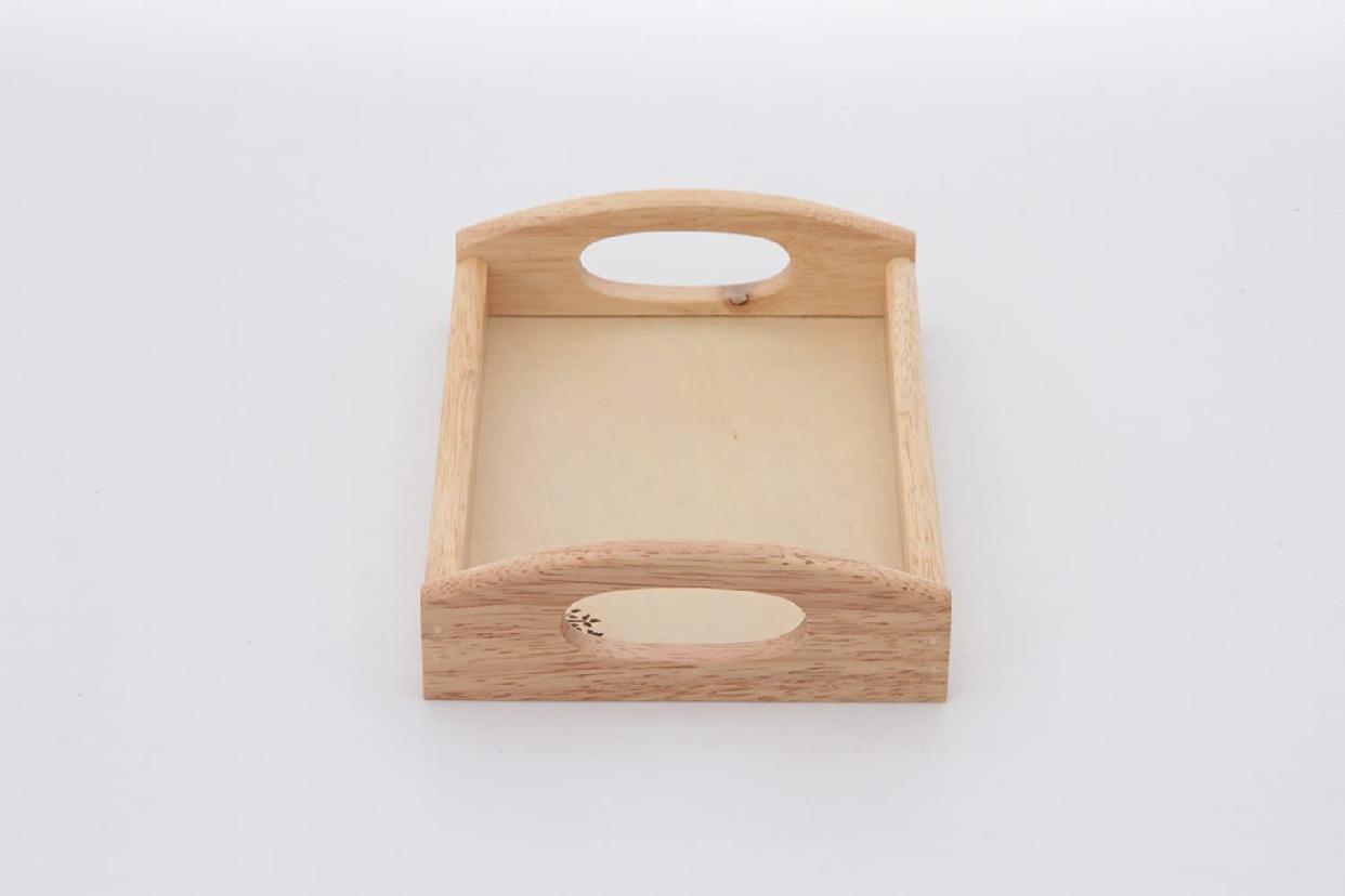 不二貿易(ふじぼうえき)木製 トレー ボヌール 96021の商品画像3