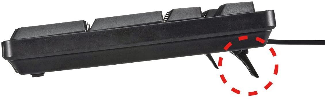 SANWA SUPPLY(サンワサプライ) USBキーボード SKB-L1UBKの商品画像6