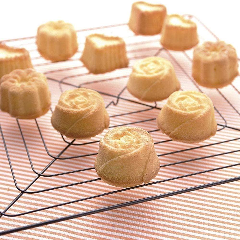 Kai House SELECT(カイハウスセレクト)生地がくっつきにくいシリコーン製のお菓子型(ローズ)レッド DL6242の商品画像7