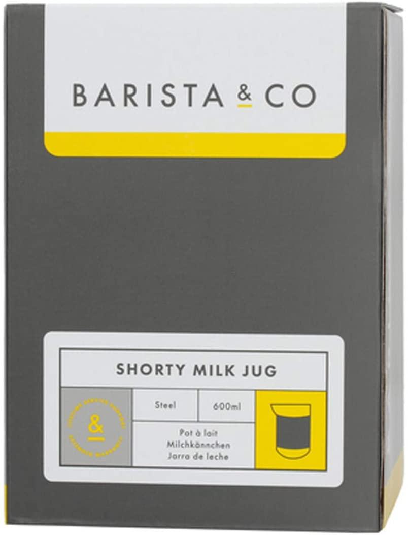 Barista&Co(バリスタアンドコー)Shorty Milk Jug Steelの商品画像4