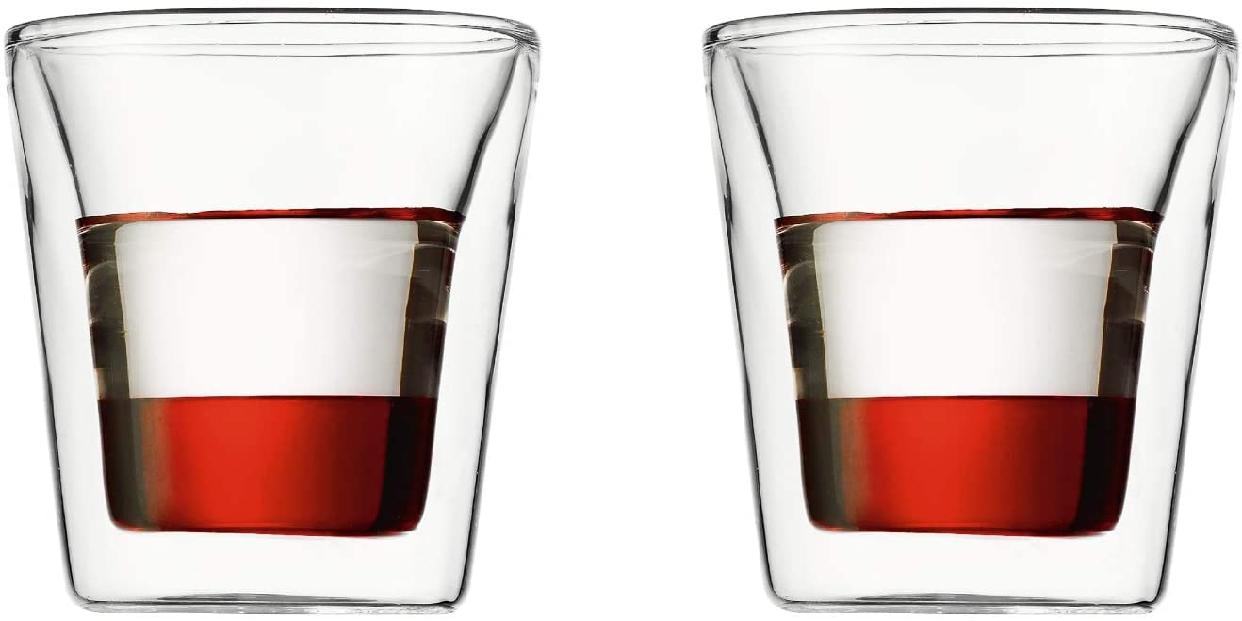 CANTEEN(キャンティーン) ダブルウォールグラス 2個セット 100ml 10108-10Jの商品画像