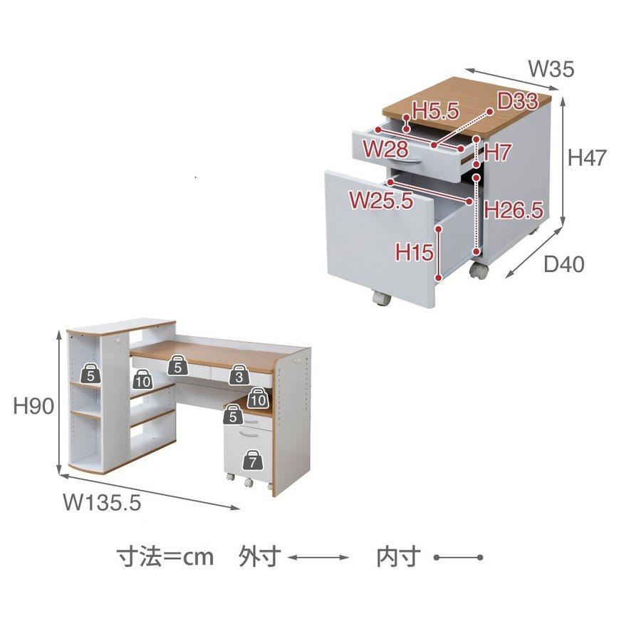 JK-PLAN(ジェイケイ・プラン) ツインデスク セルフィ fwdk3f0253の商品画像14