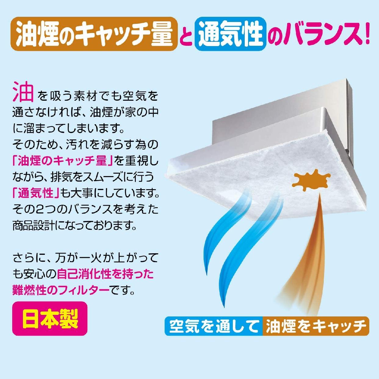 東洋アルミ(トウヨウアルミ)整流板付専用パッと貼るだけスーパーフィルター 1枚入 S3074の商品画像5
