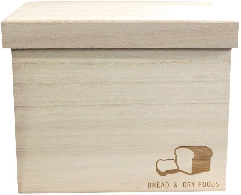 PIA&PARTY(ピアアンドパーティ) ブレッドケース 「1.5斤用 BREAD & DRY FOODS」 ナチュラルの商品画像