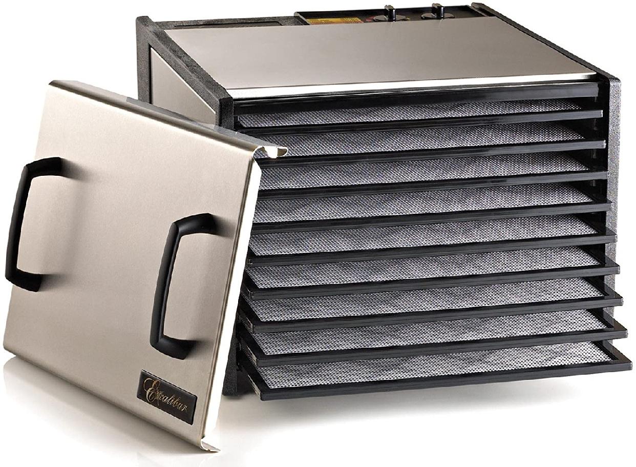 Omega(オメガ)Excalibur エクスカリバー 食品乾燥機 フードディハイドレーター9 D900sの商品画像3