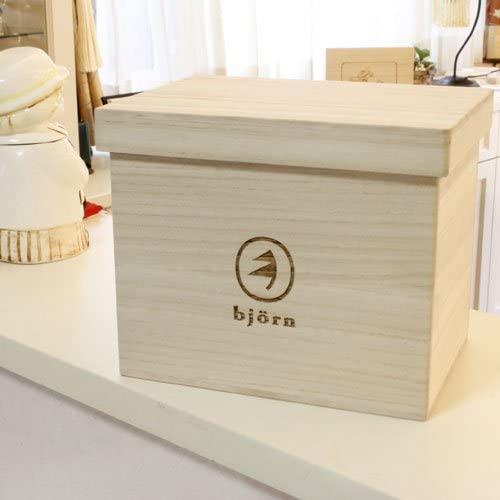ビーグラッドストア 桐ブレッドボックス「2」1.5斤の商品画像5