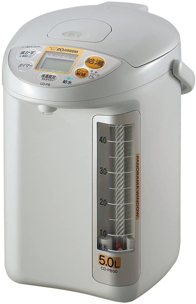 象印(ぞうじるし)マイコン沸とう電動ポット CD-PB50の商品画像