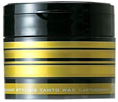 NAKANO(ナカノ) スタイリング タント ワックス 7 ラスティング&シャイニー