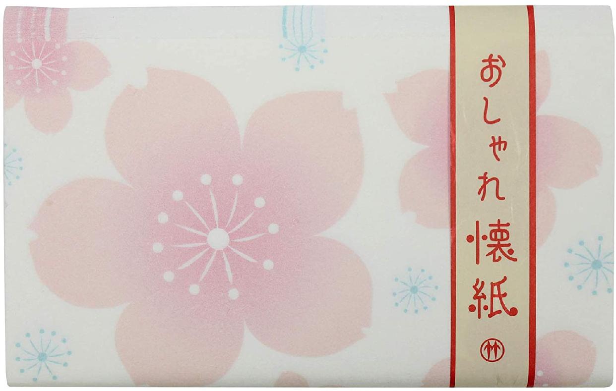 クロチク おしゃれ懐紙 桜 71306713 白の商品画像