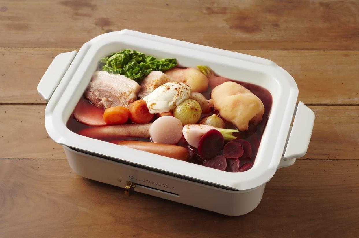 BRUNO(ブルーノ) コンパクトホットプレート用セラミックコート鍋の商品画像2