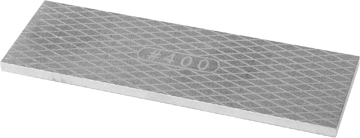 SK11(エスケー11) 両面ダイヤモンド砥石 グレー #400 #1000 204×65×7mmの商品画像