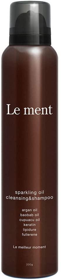 Le ment(ルメント)スパークリングオイル クレンジング&シャンプーの商品画像