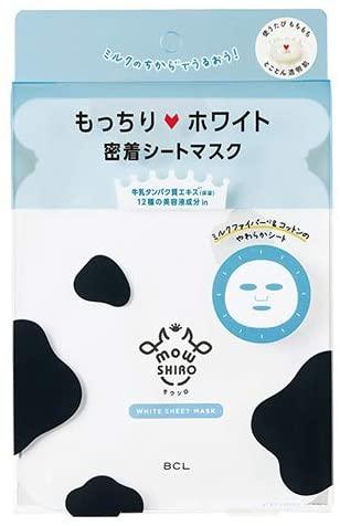 mowSHIRO(モウシロ) ホワイト シートマスク