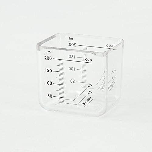 KEYUCA(ケユカ) monolim 計量カップ 200mlの商品画像