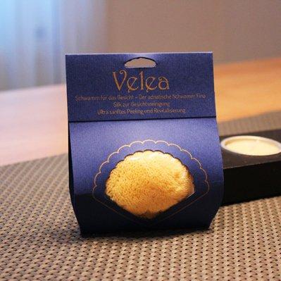 Velea(ヴェレア)フェイシャルケア用シースポンジの商品画像
