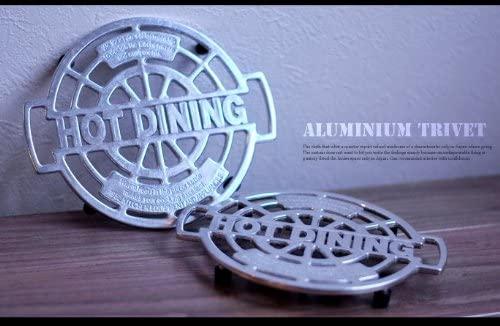 DULTON(ダルトン) Aluminum trivet 鍋敷き100-017 φ180mmの商品画像7
