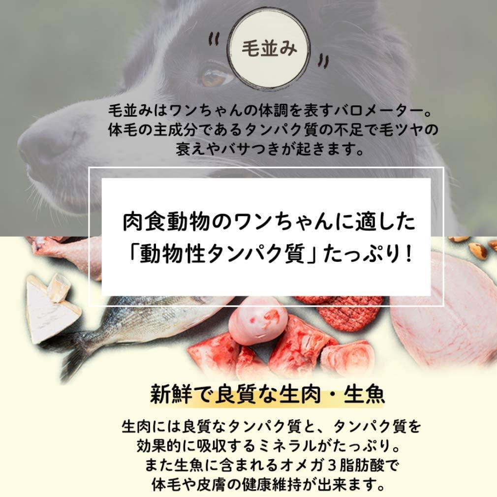 Reason why(リーズンワイ) ナチュロル 国産・無添加 ドッグフード 850gの商品画像12