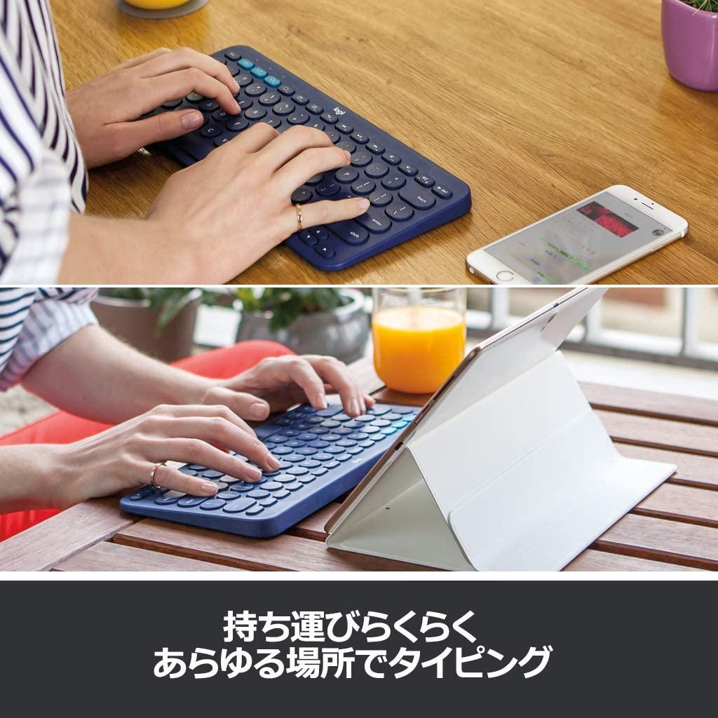 logicool(ロジクール) マルチデバイスBLUETOOTHキーボード K380の商品画像6