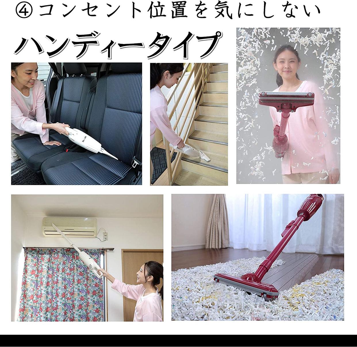 makita(マキタ) 充電式クリーナ CL110DWの商品画像6