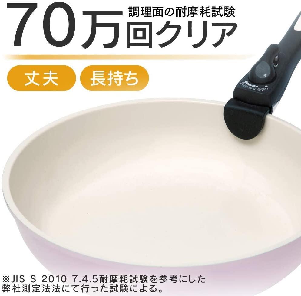 IRIS OHYAMA(アイリスオーヤマ)セラミックカラーパン 6点セットの商品画像6