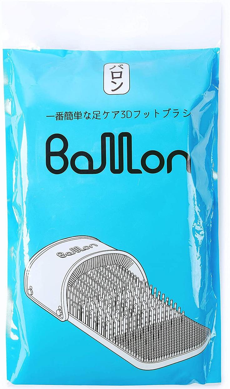 Ballon(バロン) 3D4Zoneケア角質とりフットブラシの商品画像7