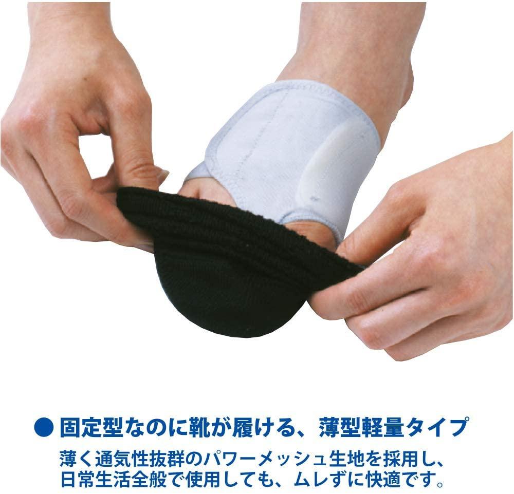 SORBOTHANE(ソルボセイン) ソルボ外反母趾サポーター 固定薄型メッシュの商品画像3