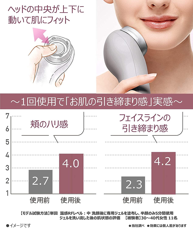 Panasonic(パナソニック)RF美顔器 EH-SR72の商品画像4