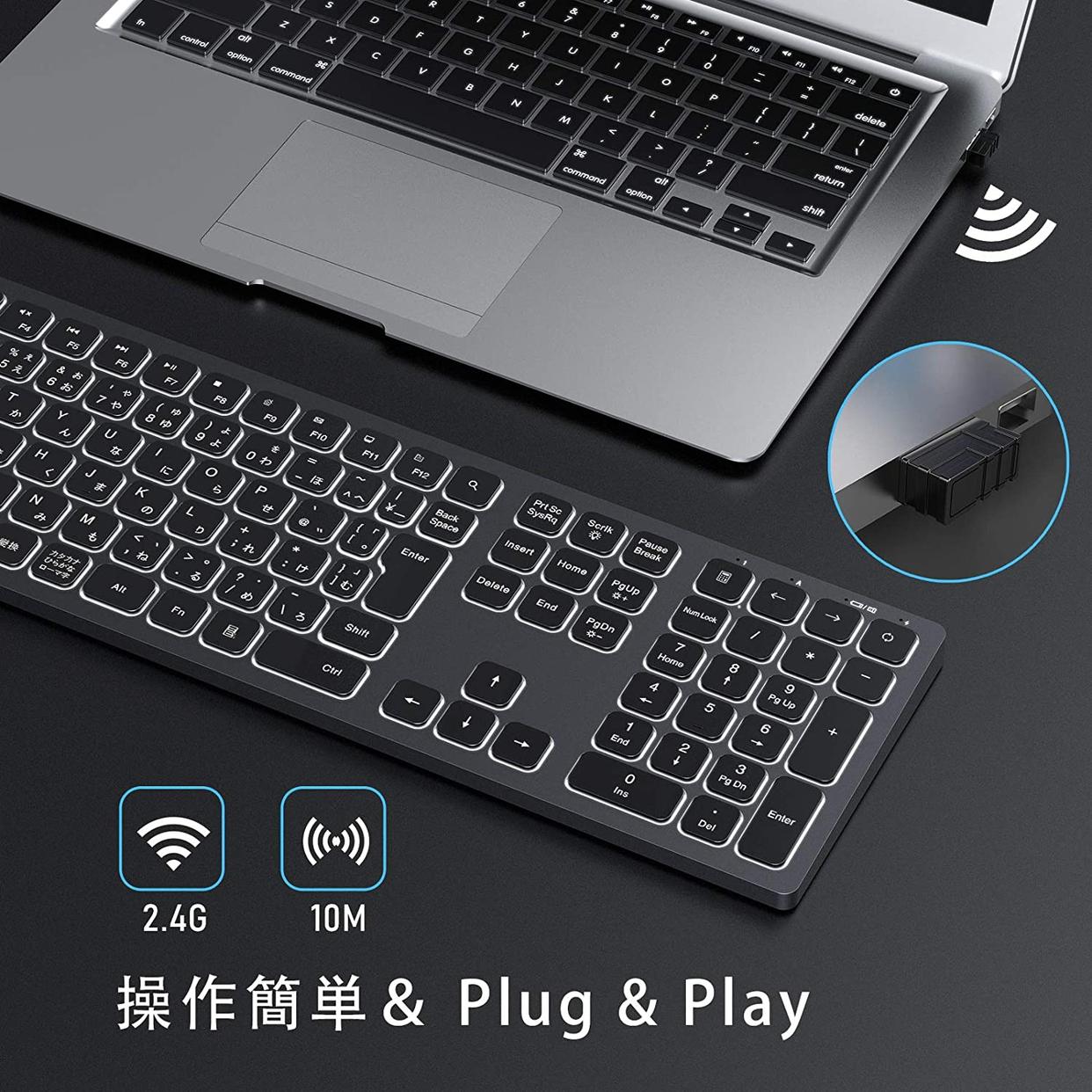seenda Bluetooth キーボードの商品画像3