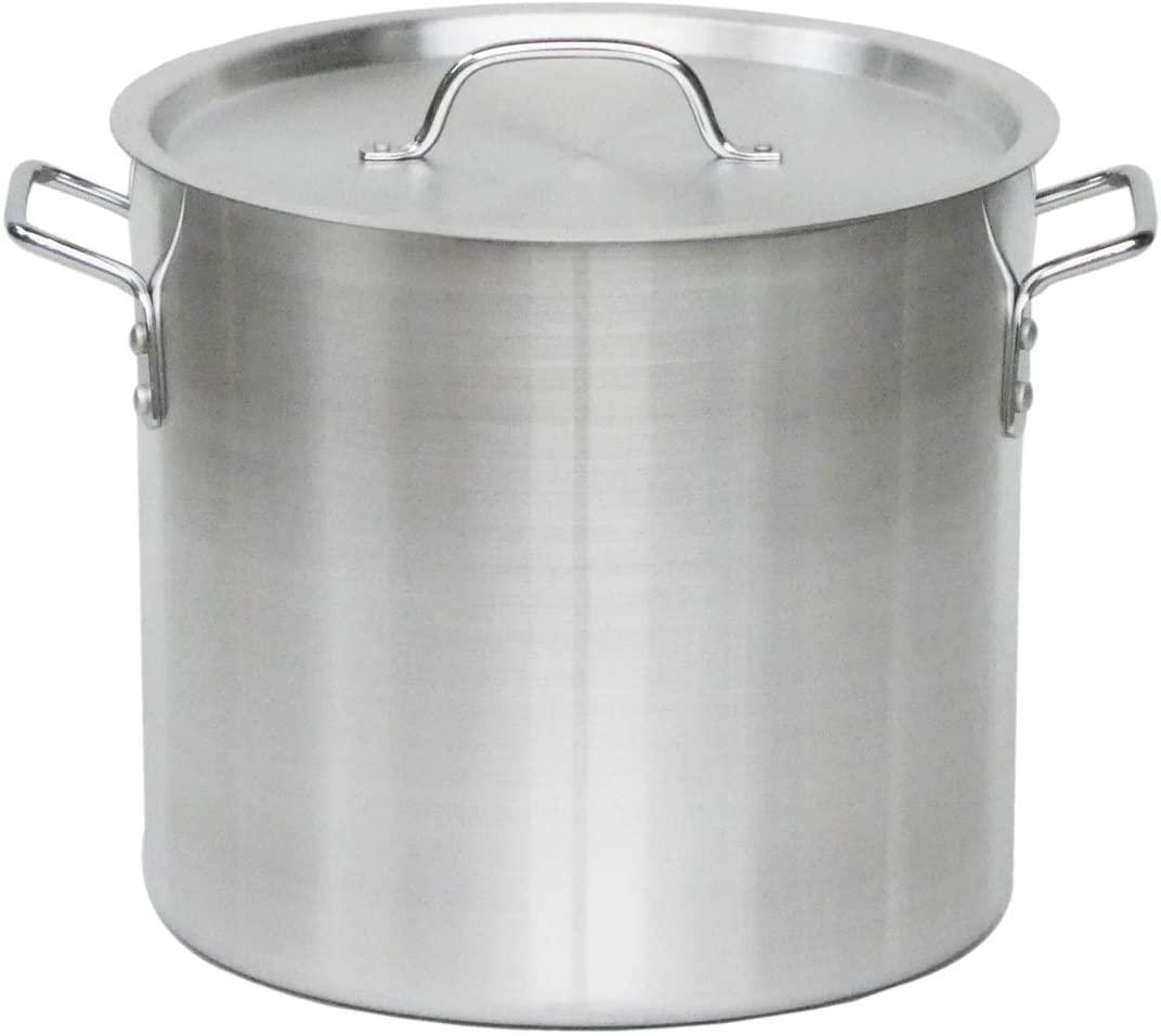 KIPROSTAR(キプロスター) 業務用アルミ寸胴鍋(蓋付)の商品画像