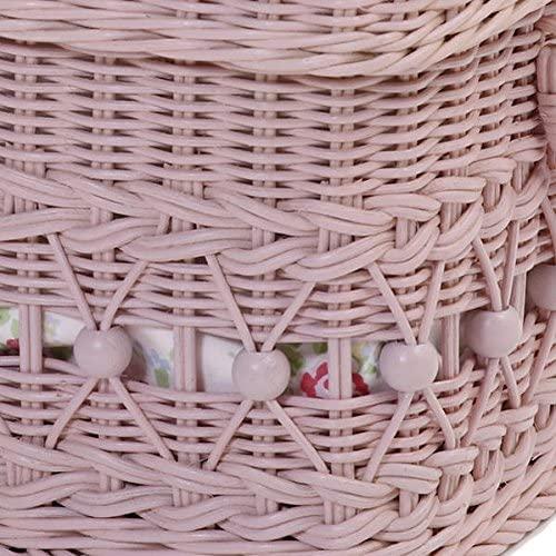 fiore(フィオーレ)収納バスケット かご ピンク GK808PKの商品画像5