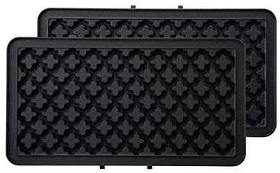 BRUNO(ブルーノ)ホットサンドメーカーダブル レッド ワッフルプレートセット BOE044-RD レッドの商品画像6
