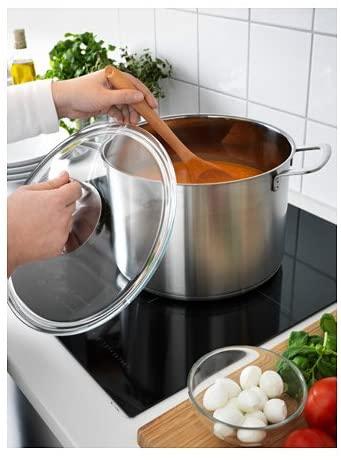 IKEA 365+(イケア 365プラス)スープ鍋 ふた付 シルバー 102.567.45の商品画像2