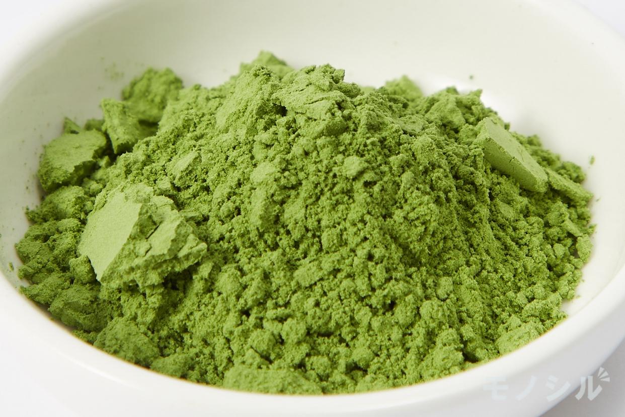 日本薬健 金の青汁 純国産大麦若葉100%粉末の商品の粉末の状態