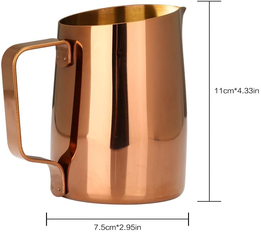 Dianoo(ディアノー)Espresso Steaming Pitche Goldの商品画像6
