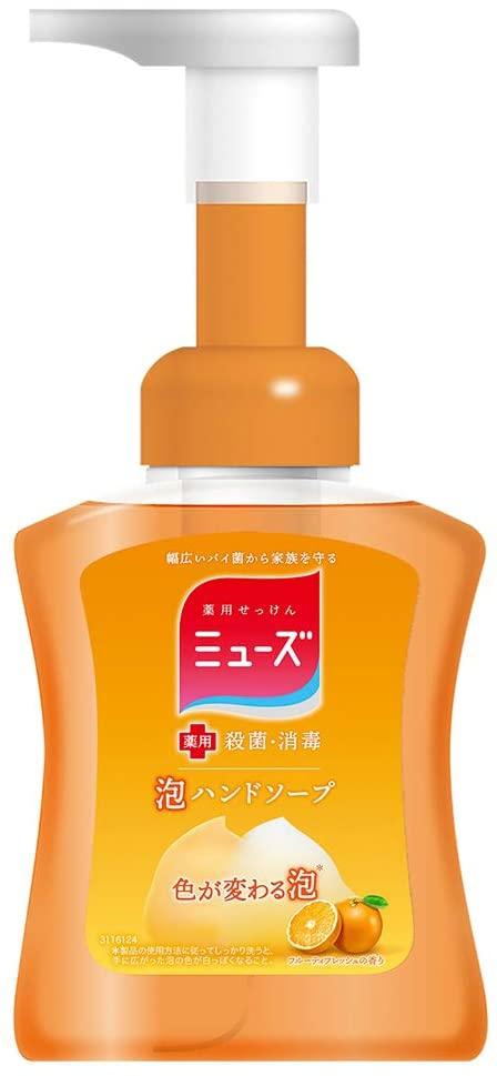 ミューズ 泡 ハンドソープ フルーティフレッシュの香りの商品画像